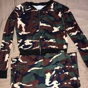 Other - Camouflage Tracksuit